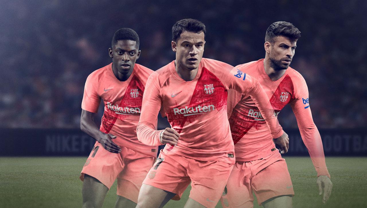 FC Barcelona 2018-19 Third Kit