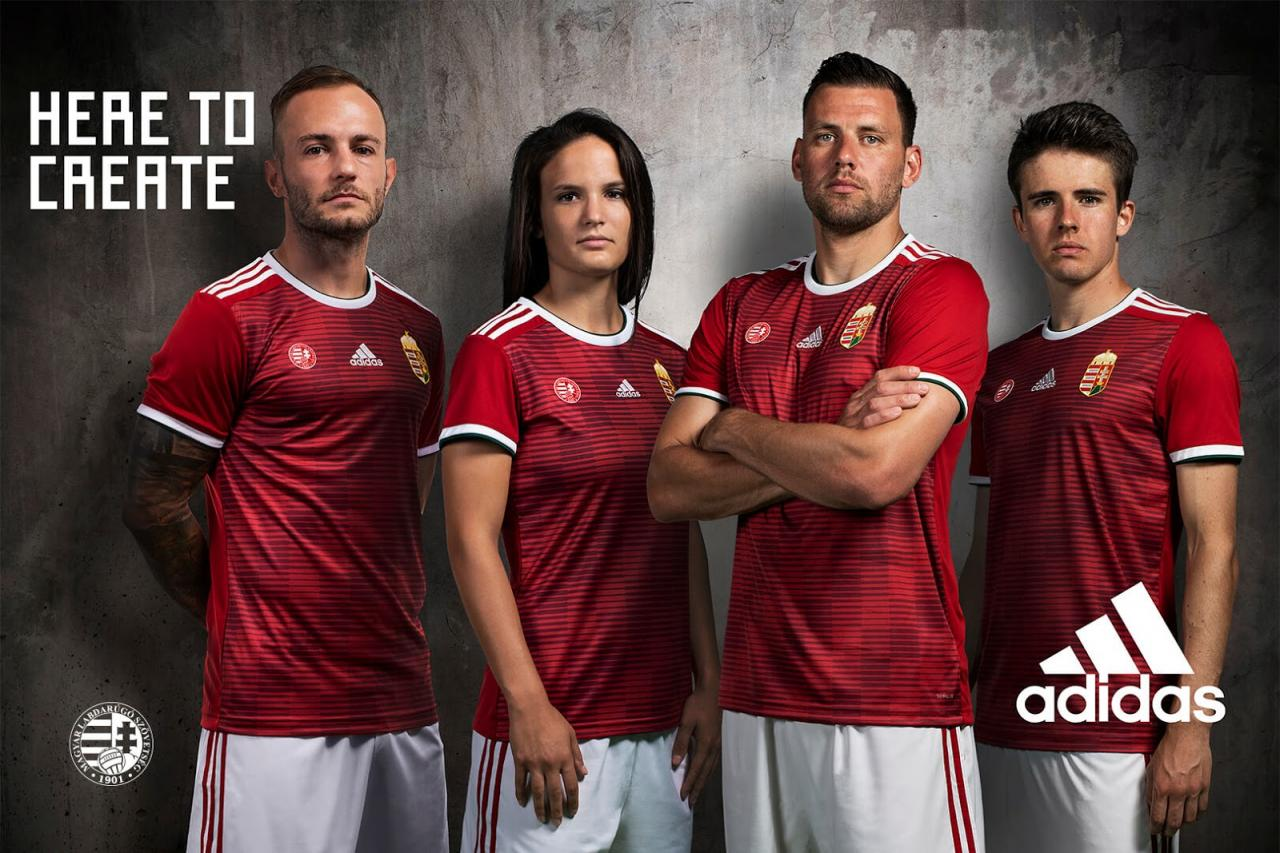 Hungary 2018-19 Home & Away Kits