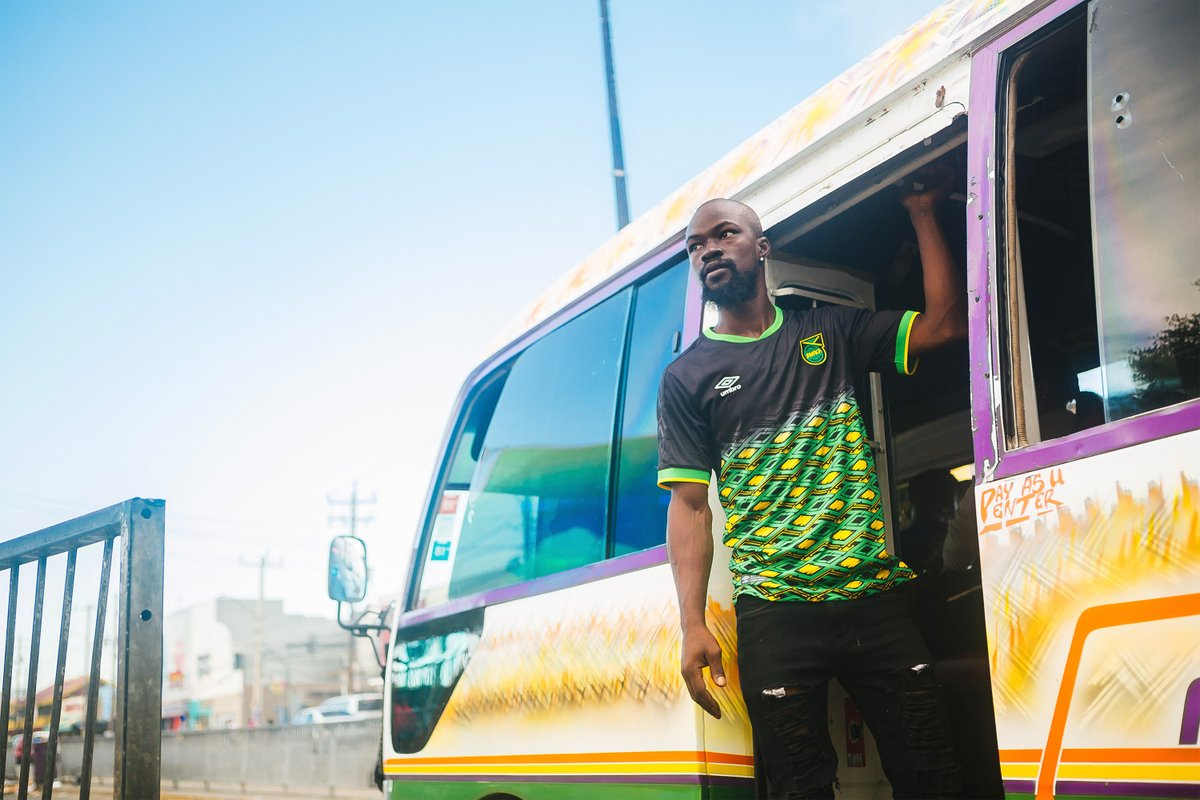 b7dbedd4422 The Umbro Jamaica 2018-2019 soccer jerseys are expected to hit stores soon. Jamaica  2018-19 Umbro Home And Away Kit