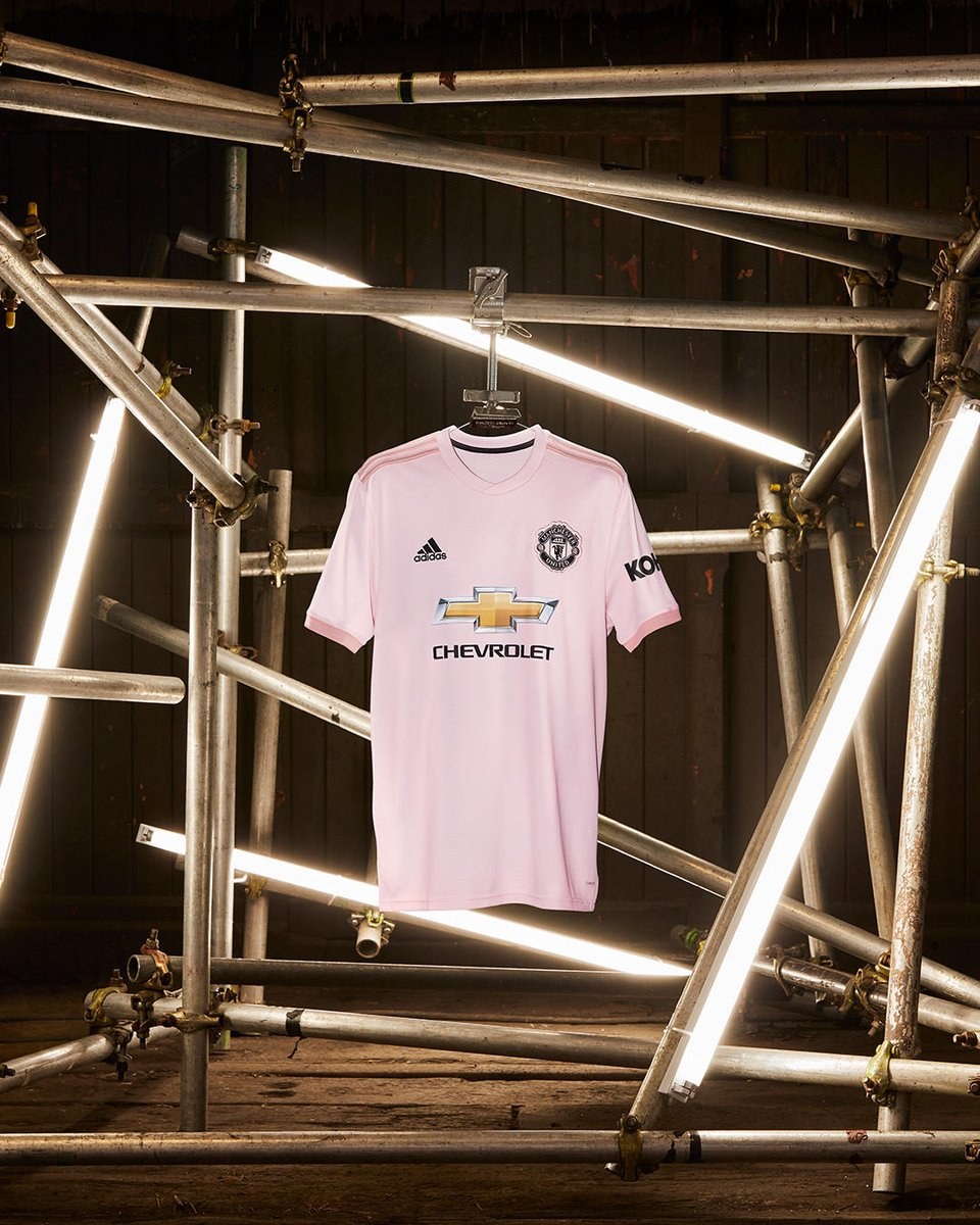 Manchester United 2018-19 Adidas Away Kit