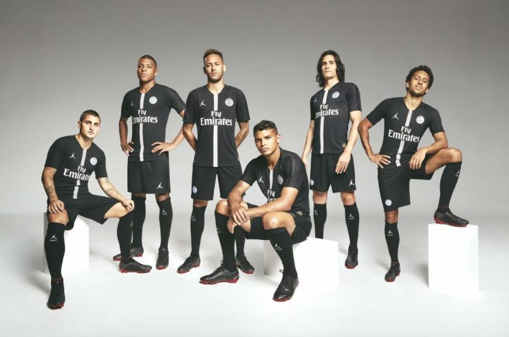 Paris Saint-Germain 2018-19 Jordan Champions League Kits
