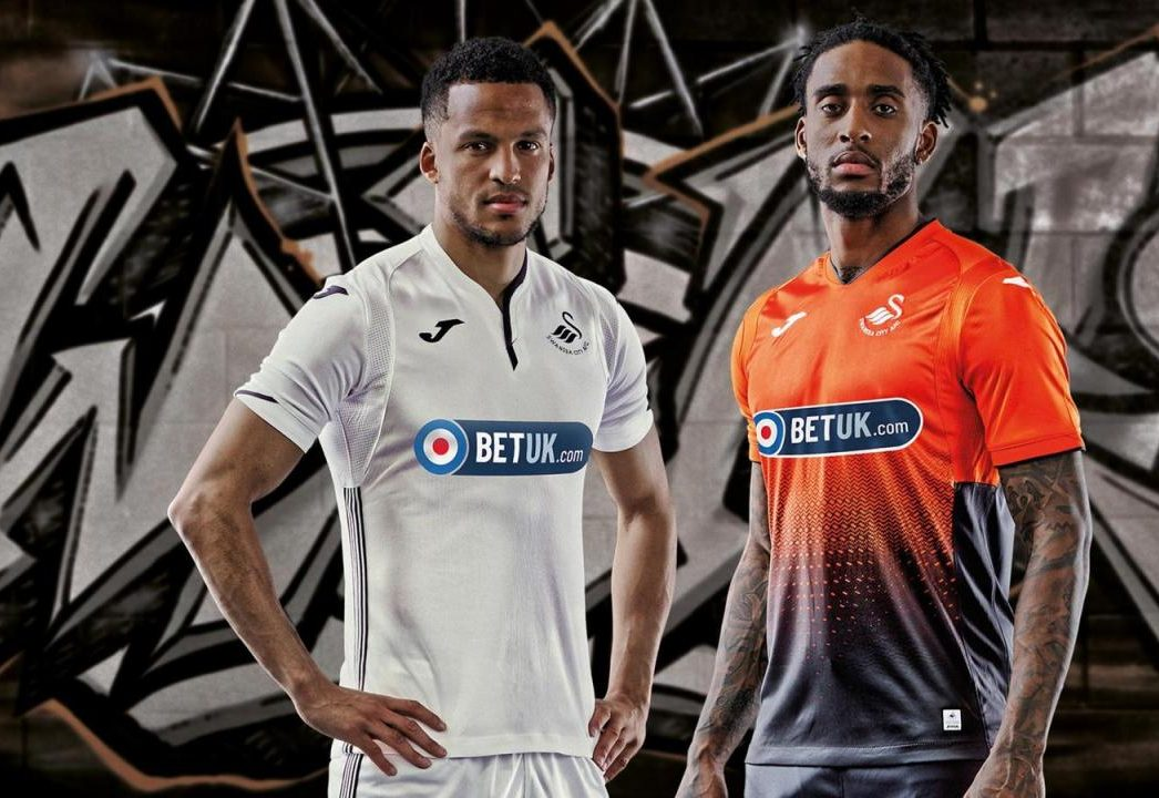 Swansea City 2018-19 Home & Away Third Kits